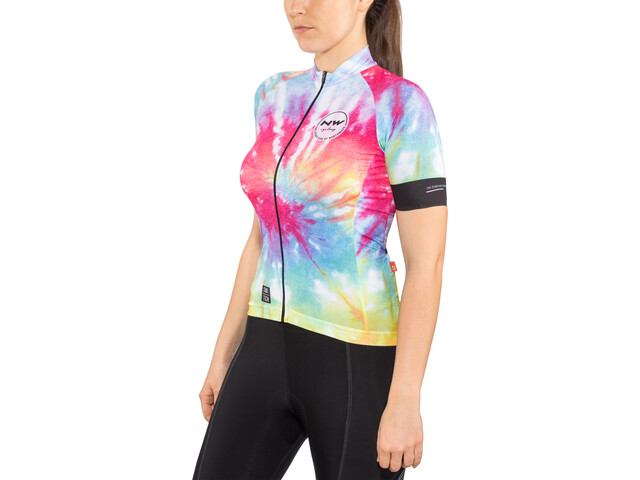Northwave Hippie SS Jersey Switch Line Women rainbow
